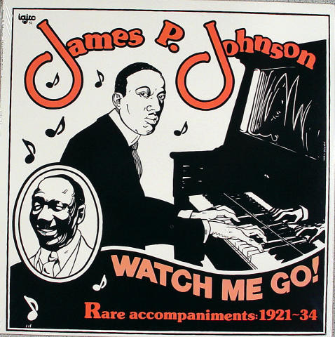 "James P. Johnson Vinyl 12"""