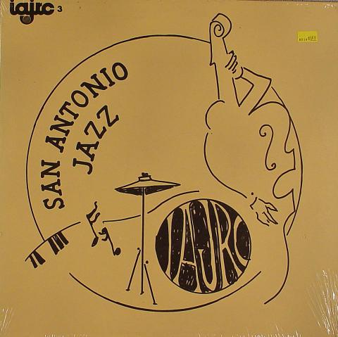 "San Antonio Jazz Vinyl 12"""