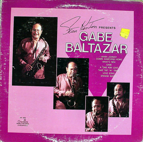 "Gabe Baltazar Vinyl 12"""