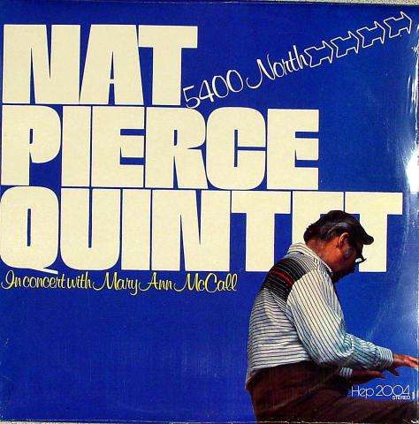 "Nat Pierce Quintet Vinyl 12"""