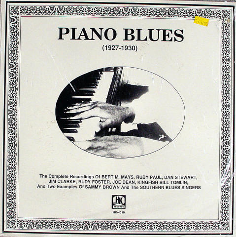 Piano Blues (1927-1930) Vinyl 12""