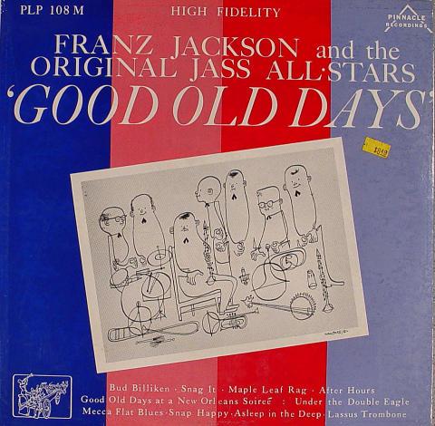 """Franz Jackson Vinyl 12"""""""