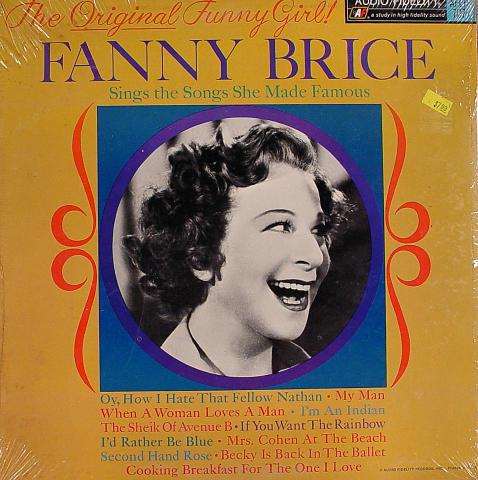 "Fanny Brice Vinyl 12"""