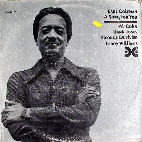 """Earl Coleman Vinyl 12"""""""