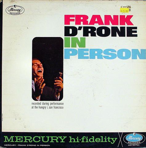 "Frank D'Rone Vinyl 12"""