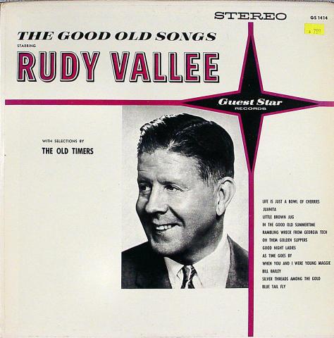 """Rudy Vallee Vinyl 12"""""""