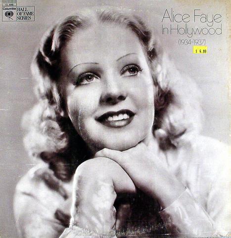 """Alice Faye Vinyl 12"""""""