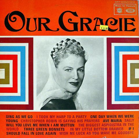 "Gracie Fields Vinyl 12"""