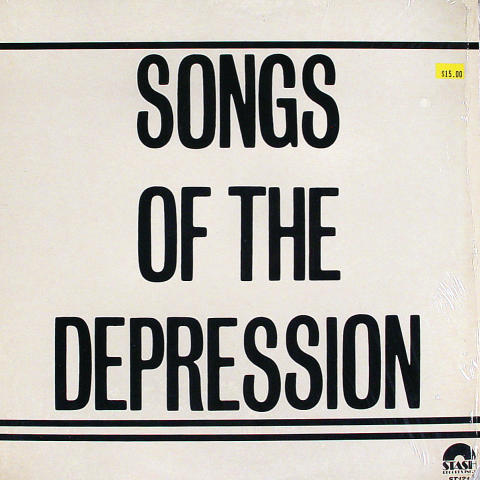 """Songs of the Depression Vinyl 12"""""""