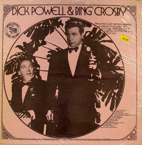Dick Powell & Bing Crosby Vinyl 12""