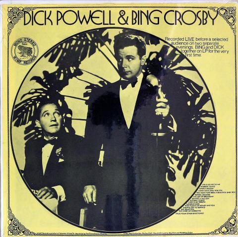 """Dick Powell & Bing Crosby Vinyl 12"""""""