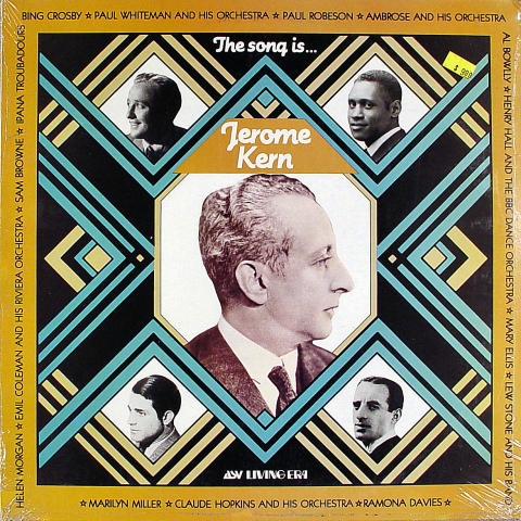"Jerome Kern Vinyl 12"""