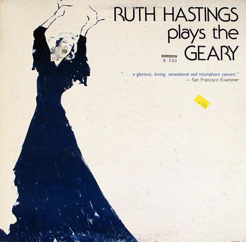 """Ruth Hastings Vinyl 12"""""""