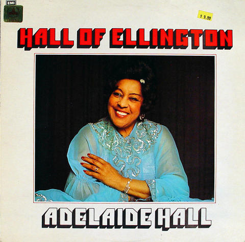 "Adelaide Hall Vinyl 12"""