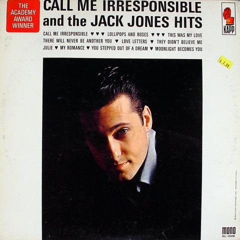 """Jack Jones Vinyl 12"""""""
