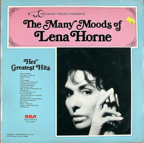 """Lena Horne Vinyl 12"""""""