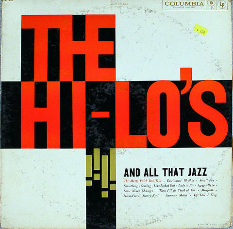 "Hi-Lo's Vinyl 12"""