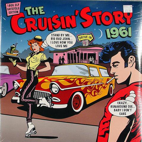 "The Cruisin' Story 1961 Vinyl 12"""