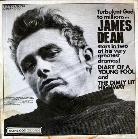 "James Dean Vinyl 12"""