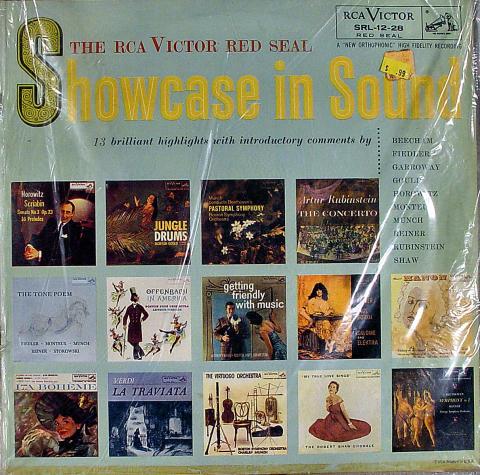 """Showcase In Sound Vinyl 12"""""""