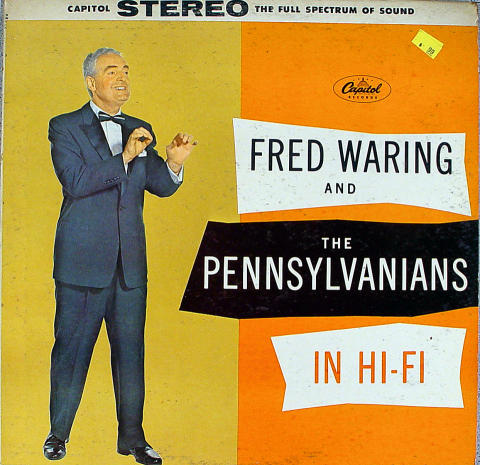 """Fred Waring And The Pennsylvanians Vinyl 12"""""""