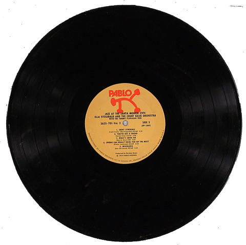"""Ella Fitzgerald and the Count Basie Orchestra Vinyl 12"""" (Used)"""