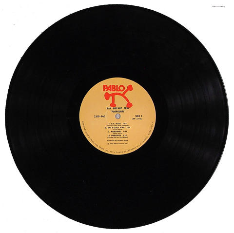 "Ray Bryant Trio Vinyl 12"""