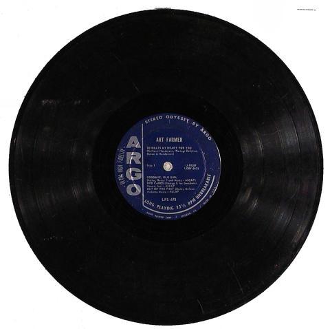 "Art Farmer Vinyl 12"""
