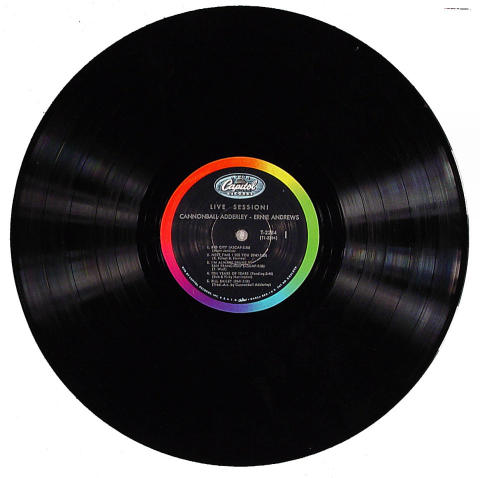 "Cannonball Adderley Vinyl 12"""