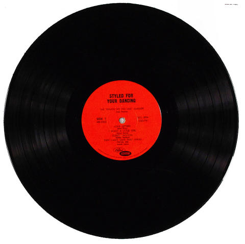 """Styled For Your Dancing Vinyl 12"""""""