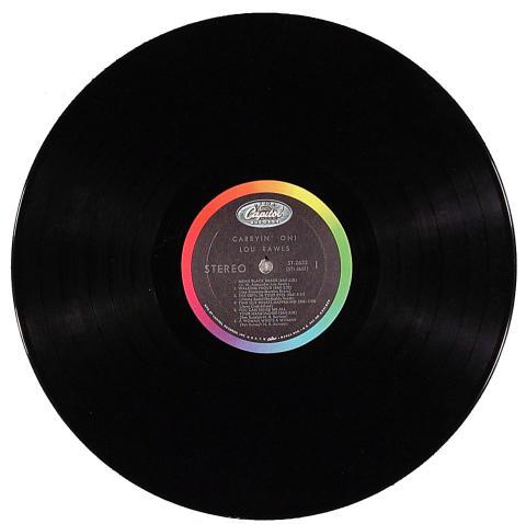 "Lou Rawls Vinyl 12"""