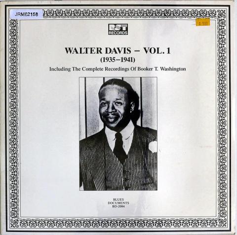 "Walter Davis Vinyl 12"""
