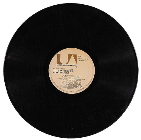 Litte Anthony & The Imperials Vinyl 12""