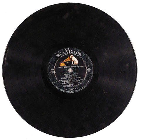 """Perry Como Vinyl 12"""" (Used)"""