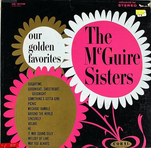 """McGuire Sisters Vinyl 12"""""""