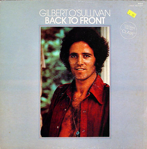 "Gilbert O'Sullivan Vinyl 12"""