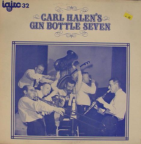 "Carl Halen's Gin Bottle Seven Vinyl 12"""
