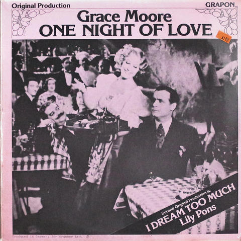 "Grace Moore Vinyl 12"""