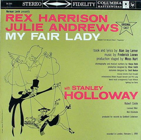 "Rex Harrison Vinyl 12"""