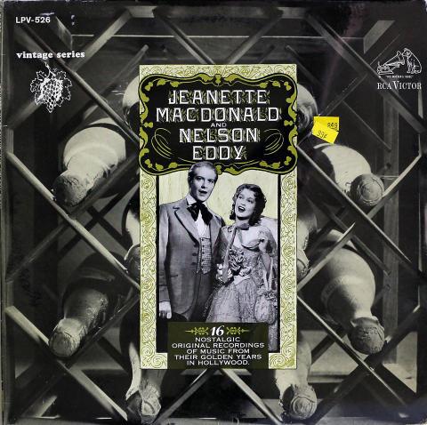 "Jeanette MacDonald / Nelson Eddie Vinyl 12"""