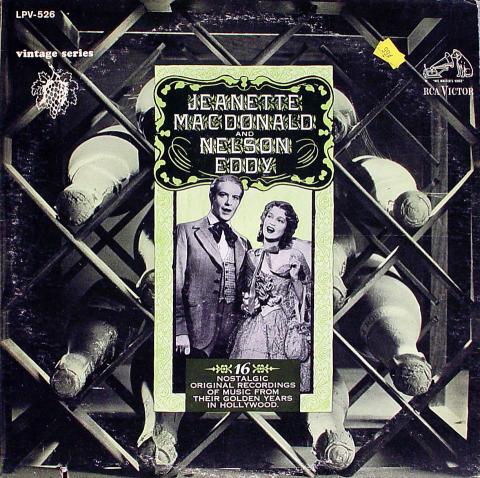 "Jeanette MacDonald Vinyl 12"""