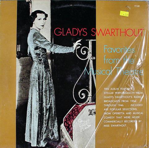 "Gladys Swarthout Vinyl 12"""