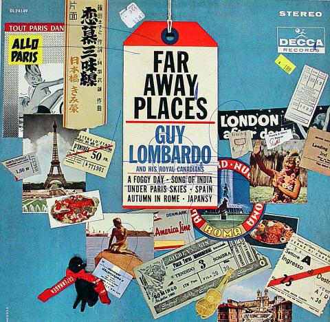 "Guy Lombardo and His Royal Canadians Vinyl 12"""