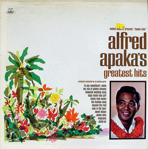 """Alfred Apaka Vinyl 12"""""""