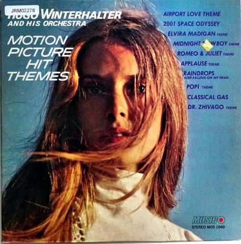 "Hugo Winterhalter and His Orchestra Vinyl 12"""