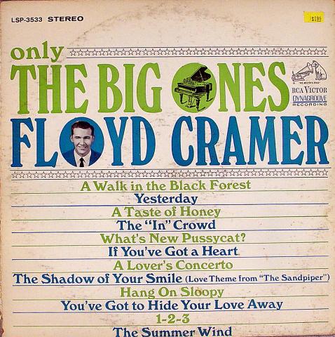 """Floyd Cramer Vinyl 12"""""""