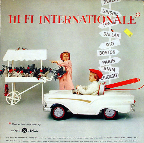 "Hi-Fi Internationale: Music to Read Road Maps By Vinyl 12"""