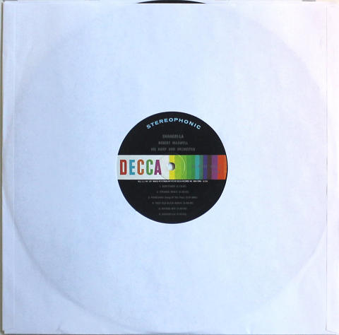"""Robert Maxwell And His Harp And Orchestra Vinyl 12"""""""