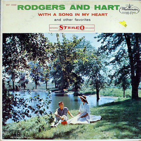 Rodgers and Hart Vinyl 12""