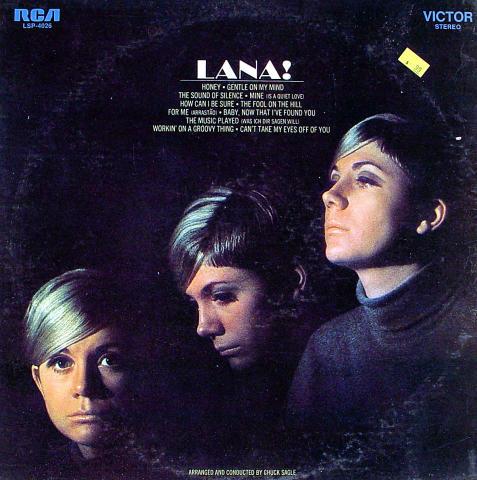 "Lana Cantrell Vinyl 12"""